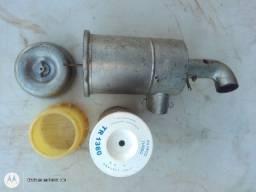 Reservatório Com Filtro Ar Para Combe Clipe Carburação Dupla