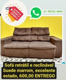 Título do anúncio: Sofá Retráctil.Promoção