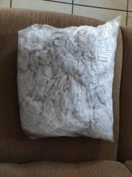 1 Kilo de estopa branca alvejada