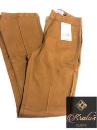 Calça Jeans Kratos caramelo 40 Etiquetada