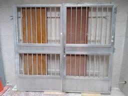 Portão De Alumínio - Garagem