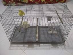 Vendo gaiola de pássaro por 50 reais