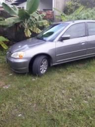 Vende ou troco por carro Honda civic ano 2002