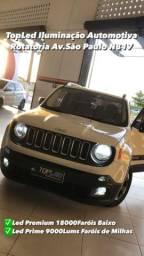 Led Premium 180000 Lumens para Jeep Renegad