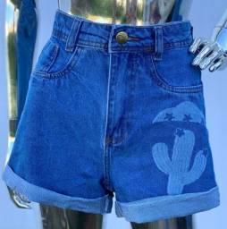 Short jeans tamanho 40