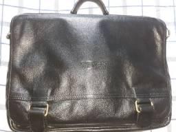 Bolsa pasta Bagaggio em couro legítimo