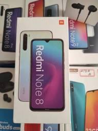 Esse vale! REDMI Note 8 da Xiaomi.. Novo LACRADO Garantia entrega hj