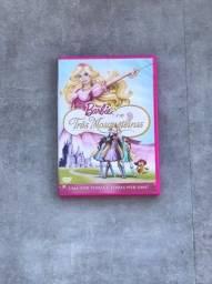 DVD Filme Barbie e as Três Mosqueteiras