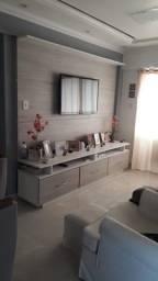 Apartamento de 53m² com 2/4 sendo 1 suíte e 1vg Summer Ville - Coqueiro - AP0071