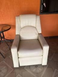 Título do anúncio: Cadeira do papai / poltrona reclinável