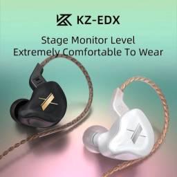 Fone de ouvido KZ EDX Novo ideal para retorno