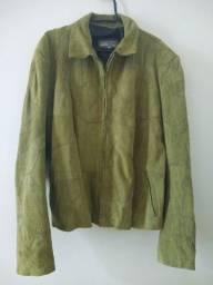 Jaqueta de camurça GG feminino