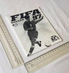 Raridade - Manual Original do Jogo Fifa Soccer 97 para PC - EA Sports