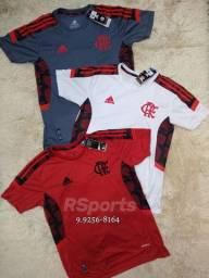 Camisa nova do flamengo de treino (cada)