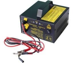 Carregador De Bateria Automotivo 12v 10a Fazendeiro Bivolt
