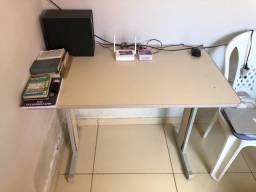 Mesinha de Estudos Mesa de Escritório Modular Desmontável Quadrada 100cm x 50cm