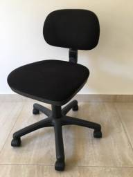 Cadeira Secretária Flexform Preta Escritório Home Office Giratória