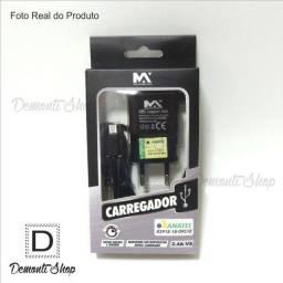 Carregador de celular Anatel 2.4A-V8