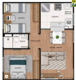 Apartamentos para vender no bairro Região do Satélite, Natal/RN, Residencial Nova Amsterdã
