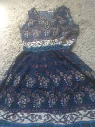 Vestido indiano tamanho P/M