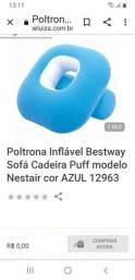 Título do anúncio: Poltrona inflável  azul