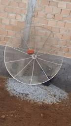 Vendo sky gato antena parabólica e sim pra carro