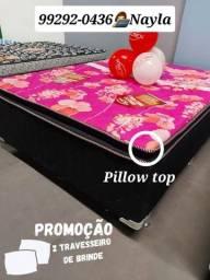 Título do anúncio: CAMA BOX PILLOW TOP