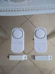 Alarme magnético para portas ou janelas - 2 unidades