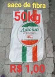 SACOS DE FIIBRA 50KG É 25KG