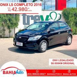 Onix 2016  58.000km
