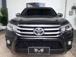 Toyota Hilux 2.8 SRX 4X4 CD 16V 2016/2017 Preta - 2017