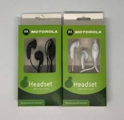 Fone de Ouvido Motorola com Fio Produto Novo na Caixa