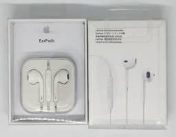 Fone De Ouvido Apple Entrada P2 iPhone iPad e iPod Novo na Caixa