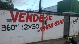 Vende-se terreno 12x30 Tabuleiro dos Martins