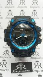 97d9cf01a7a Relogio Skmei azul