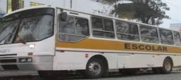 Ônibus escolar ciferal 96 com serviço Petrópolis