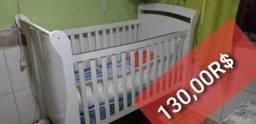 Berco que vira cama crianca comprar usado  Rio de Janeiro