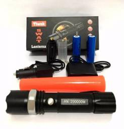 Lanterna Multifunction Led Swat Flashlight De 88.000w Forte