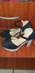 Sapato Alto Nunca Foi Usado !!