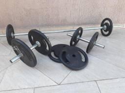 Anilhas para musculação