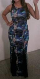 Vestido estampado tamanho M