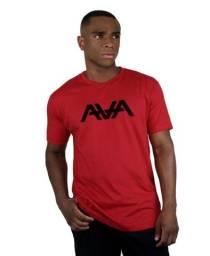 Camisa Masculina Camiseta 182Life AVA Logo Vermelha Homem