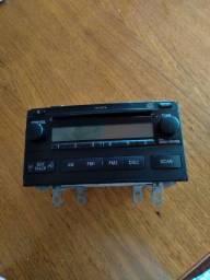 Rádio original Corolla
