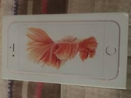 Caixa IPhone 6s 64gb Rose