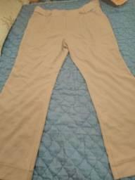 Calça cintura alta 48
