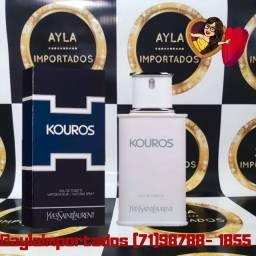 Perfume Yves Saint Laurent Kouros EDT<br>100ml - Selo Adipec/Batch Code/Nota Fiscal