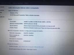 Notebook acer i5-2410M 2.30 GHz 8GB Ram