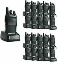 Kit 20 Radios Comunicador Walk Talk Baofeng Bf-777s + Fones<br><br>