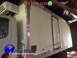 Camara fria 5.50m semi novo aparelho de frio acoplado e eletrico Mathias implementos