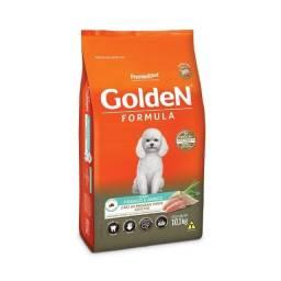 Ração Golden Fórmula Mini Bits para Cães Adultos de Pequeno Porte Sabor Frango e Arroz
